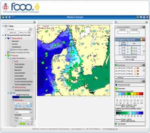 Marine Forecast. Credit: FCOO.